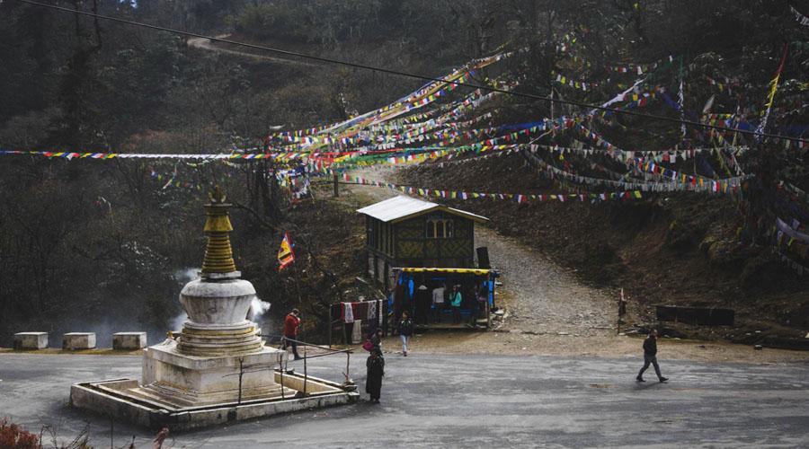 Pele - La - Pass enroute Punakha to Bumthang