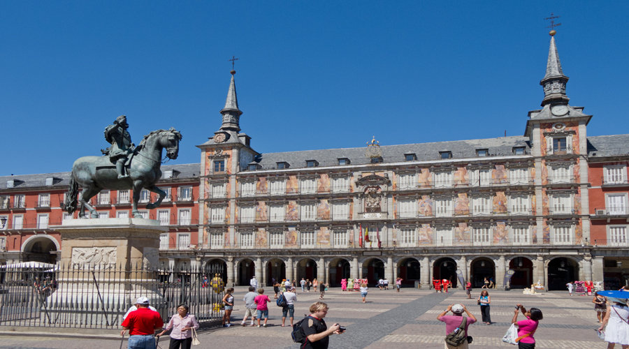 Plaza de Espana, Madrid