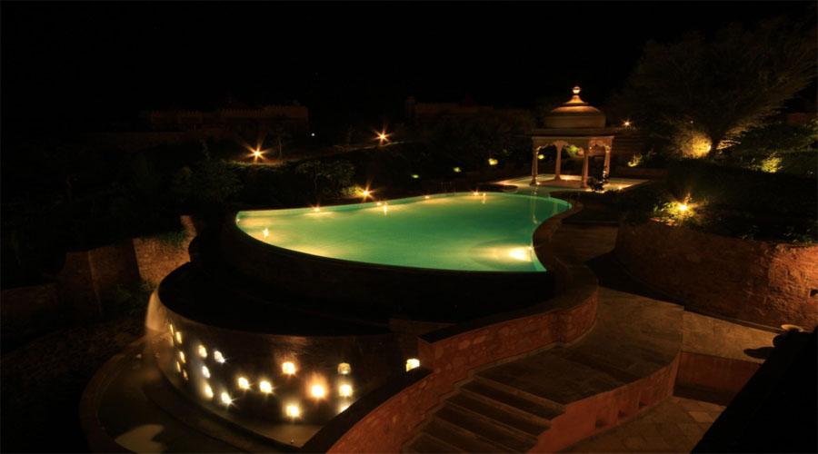 Tree of Life Resorts Pool in Jaipur