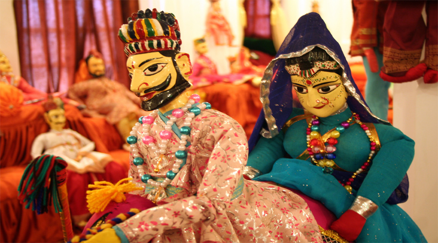 Puppet show in Udaipur