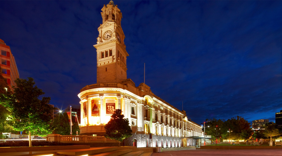 Town Hall in Queenstreet Auckland