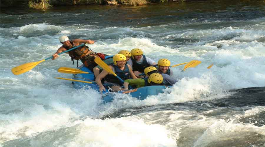 Rafting in Auli