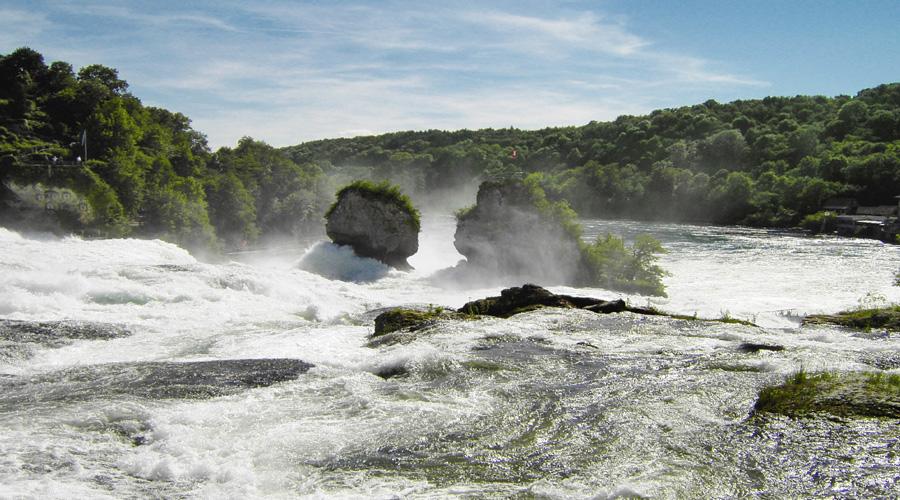 The Rhine Falls, Zurich