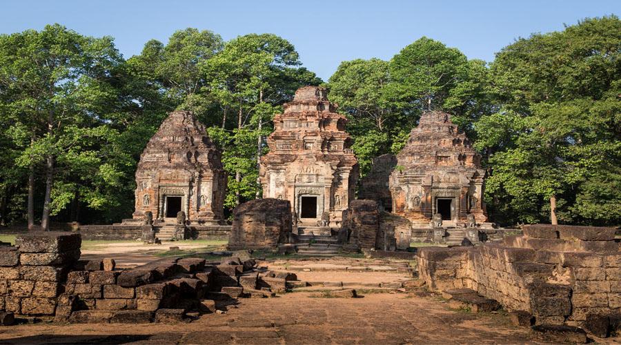 Roluos Group, Siem Reap
