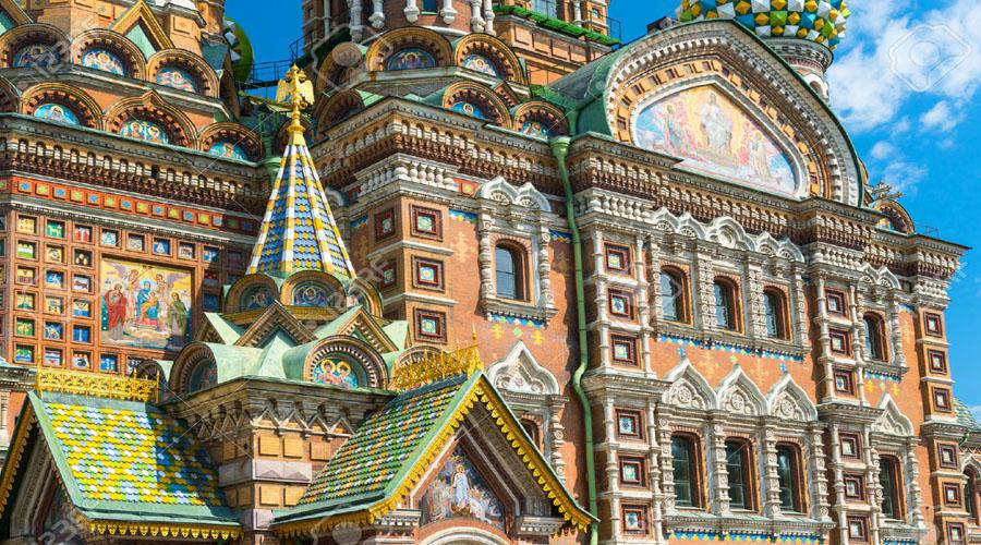 Savior on Spilled Blood Cathedral, St. Petersburg