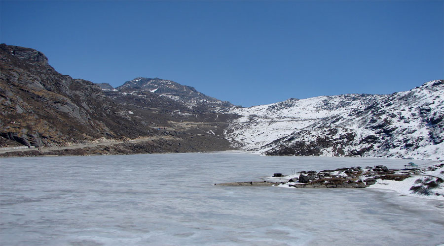 Tshangu Lake in Gangtok