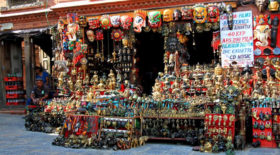 Shopping Kathmandu