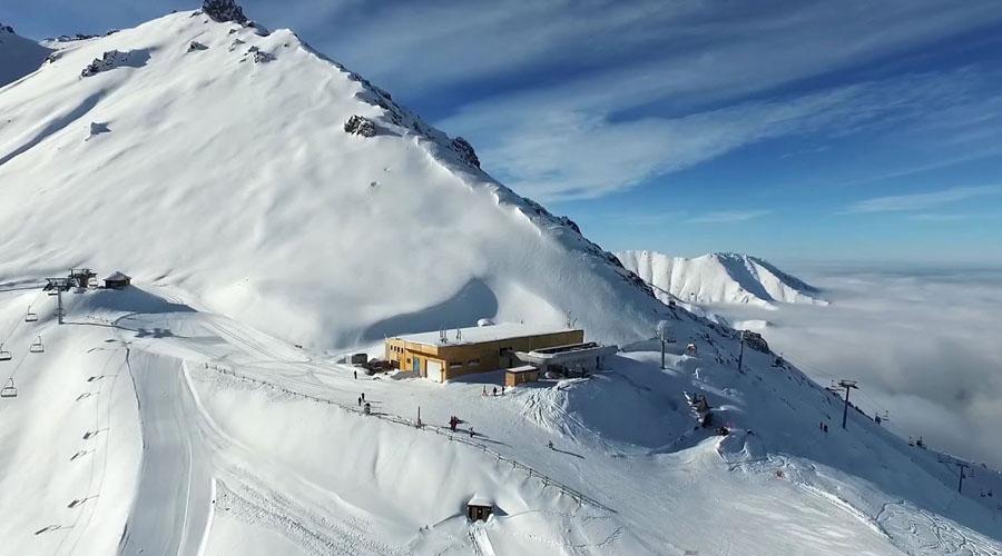 The ski resort Shymbulak
