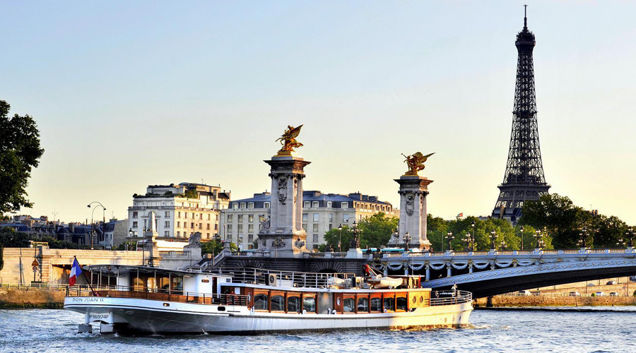 Siene Dinner Cruise, Paris