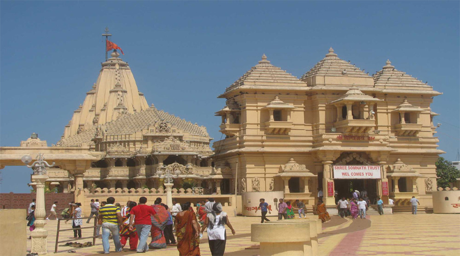 Somnath Temple in Somnath