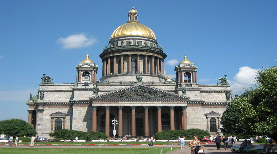 St Isaac's Cathedral, St Petersburg