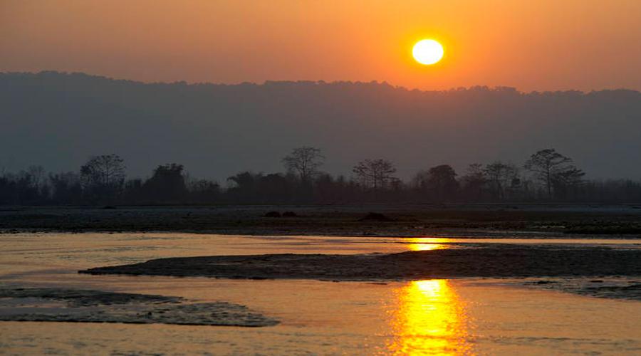 Sunrise Chitwan