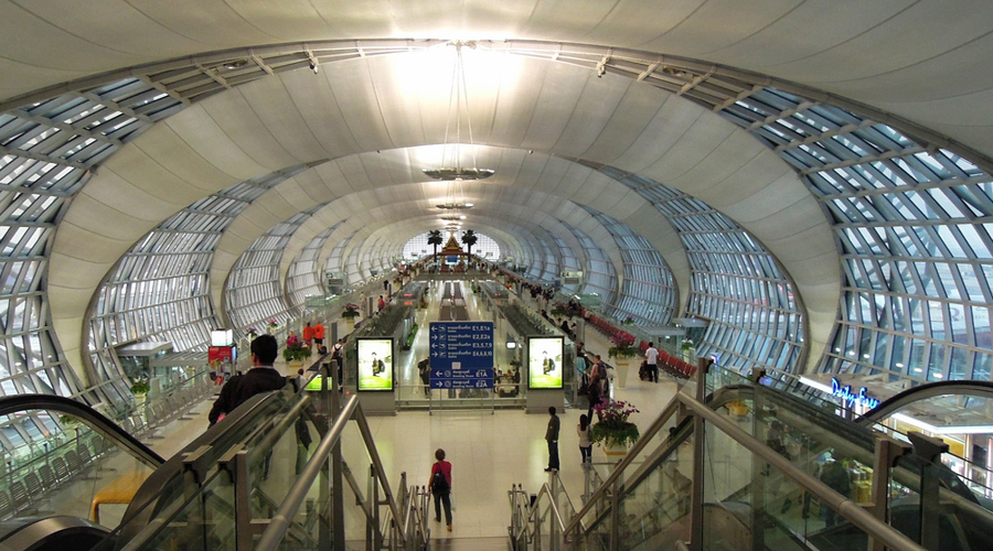 Suwarnabhumi Airport, Bangkok