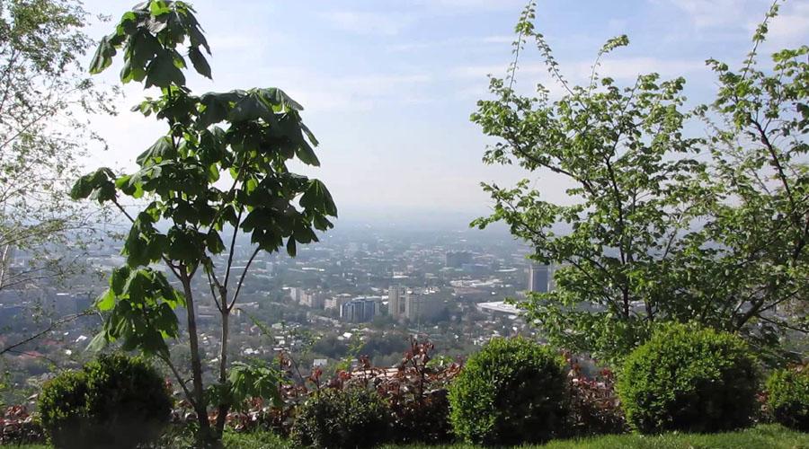 Kok Tobe Mountain view