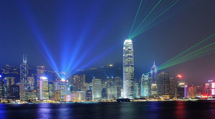 Symphony of Light, Hong Kong