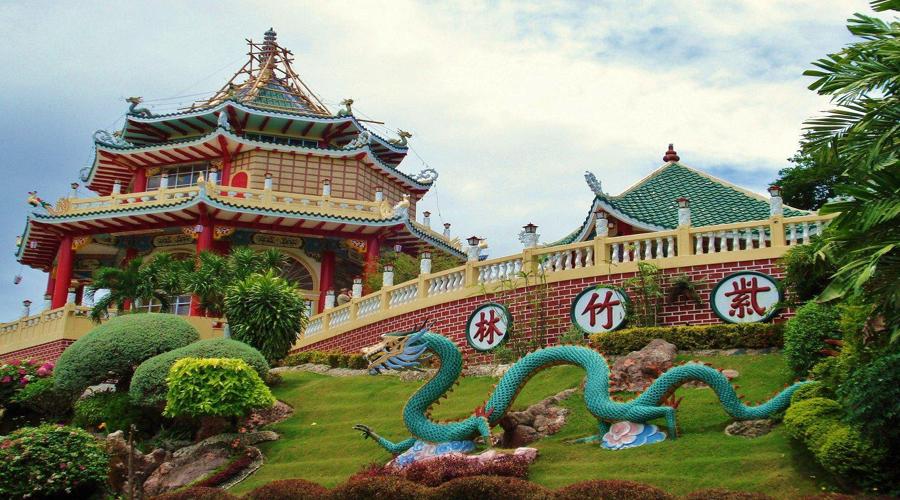 The taoist temple in cebu
