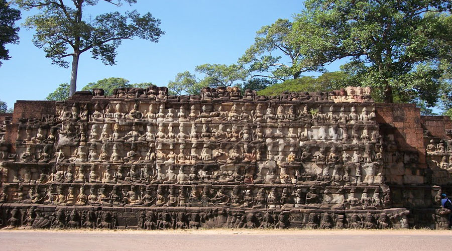 The Terrace of the Leper King (Siem Reap City Tour