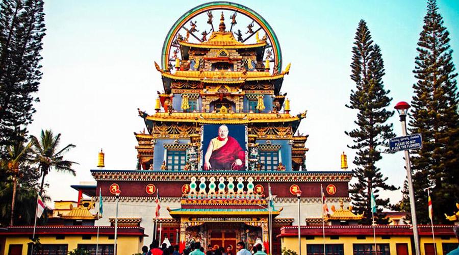 Tibetian Golden Temple, Coorg