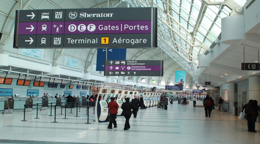 Toronto's Pearson International Airport