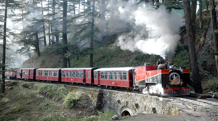Toy Train in Shimla