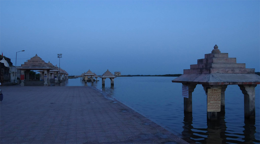 Triveni Ghat in Somnath