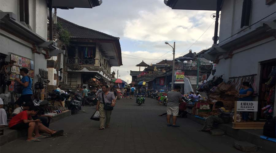 Ubud Market after Kintamani Volcano Tour