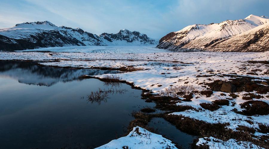 Vatnajokull National Park, Kirkjubaejarklaustur