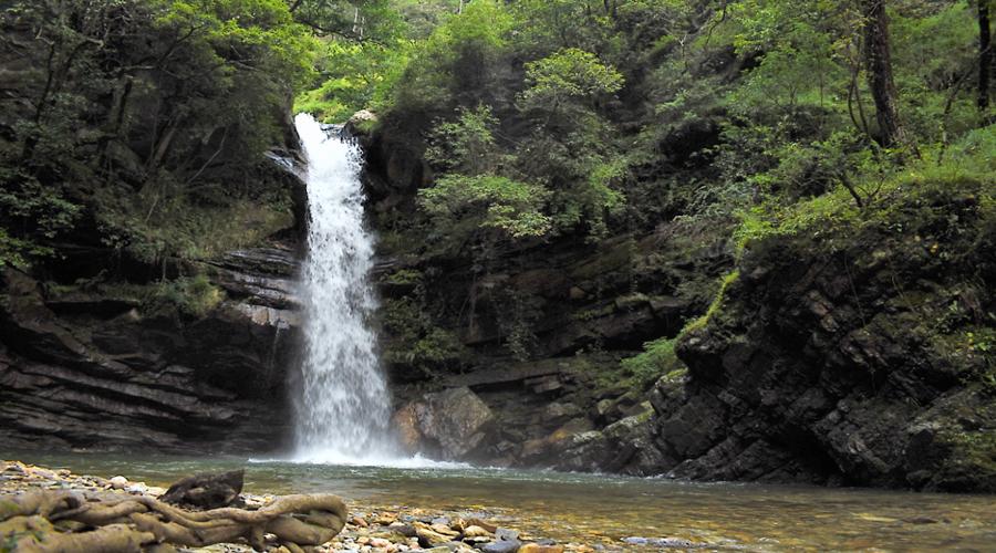 Bhalu Gaad Falls, Mukteshwar