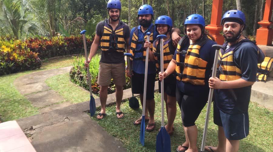 White Water Rafting, Bali