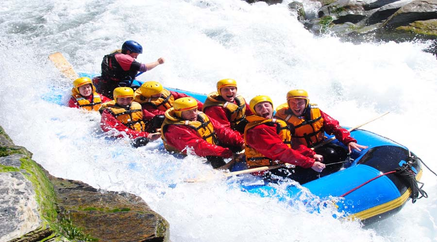 White Water Rafting, Queenstown