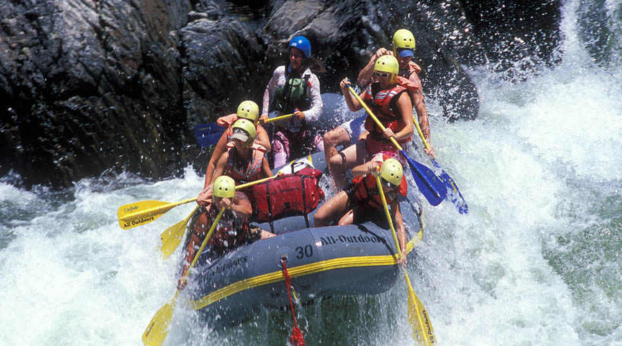 White water rafting, Kithulgala