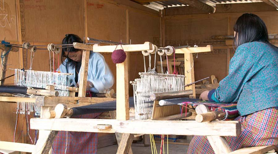 Yathra Weaving Factory, Bumthang