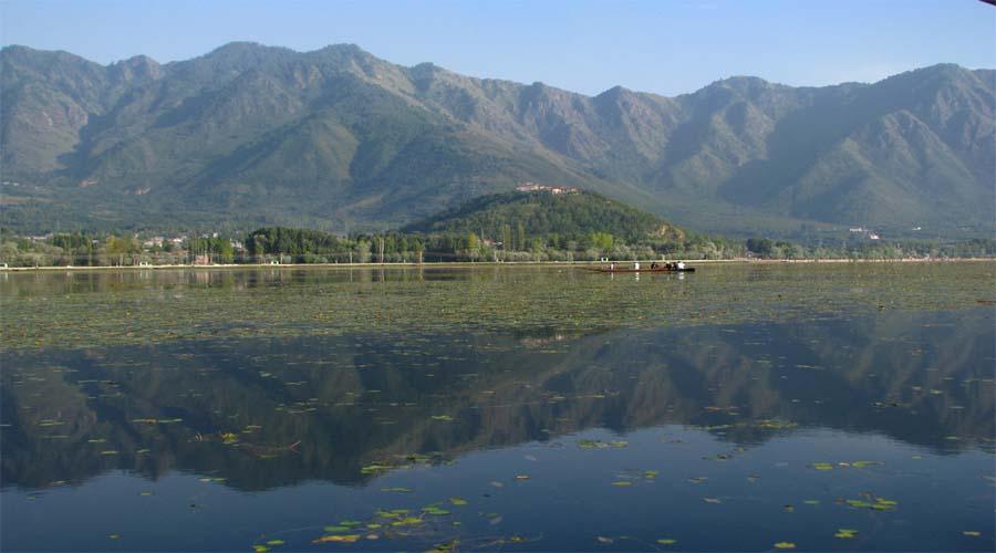 Zabarwan Mountains in Srinagar