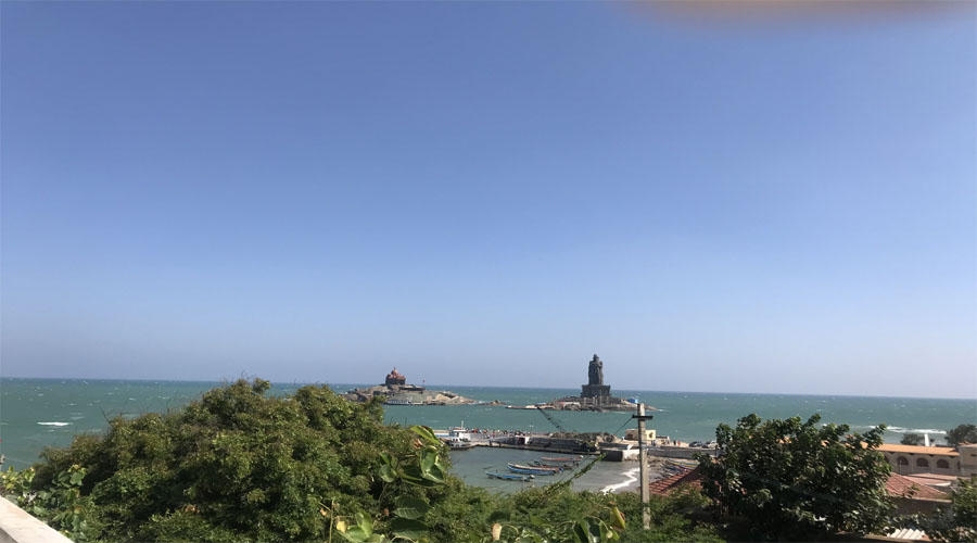 Kanyakumari sea view
