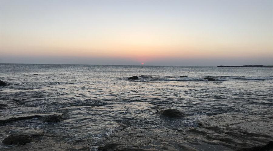 kanayakumari sunset