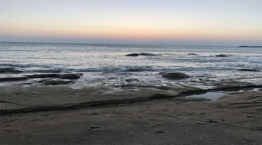 sunset k.kumari