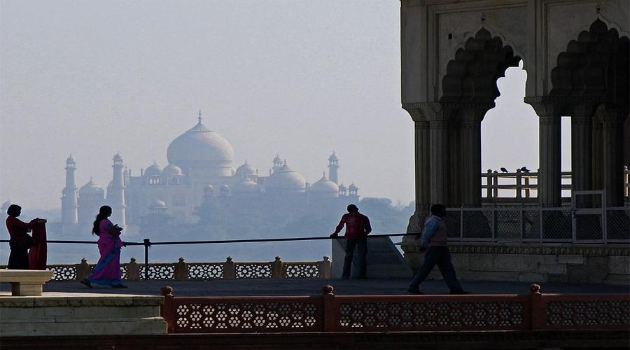 Taj View from Fort