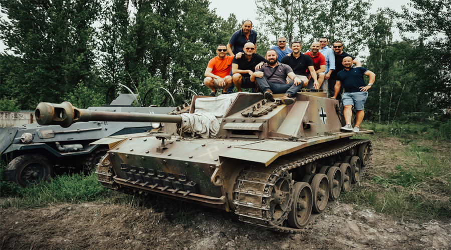 Tank Ride Moscow