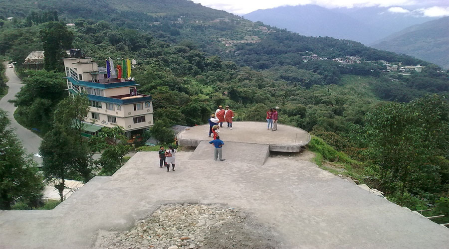 Tashi View point in Gangtok