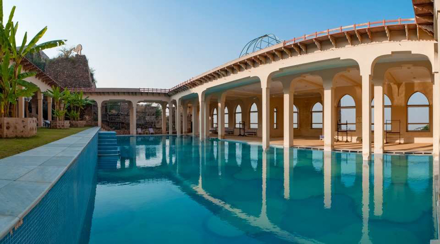 Tijara fort Swimming Pool