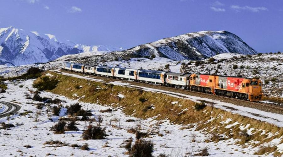 Tranzalpine Train to Greymouth