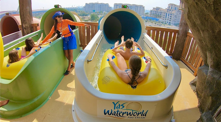 waterride yas waterworld